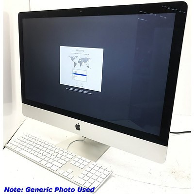Apple A1419 27 inch Widescreen Core i5 4670 3.4GHz Laptop