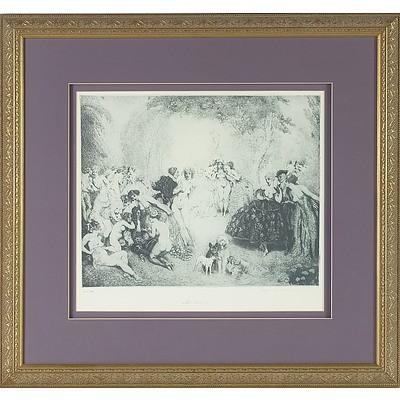 Norman Lindsay (1879-1969) Little Scandals Facsimile Etching 386/550