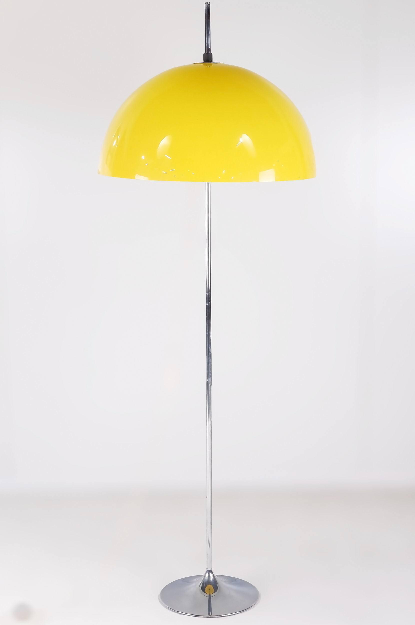 'Verner Panton Style Floor Lamp'