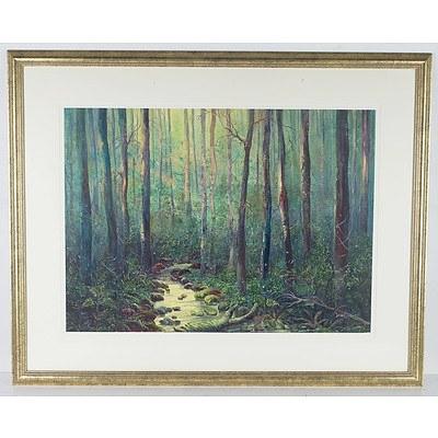 Diane Alder Watercolour And Gouache Rainforest