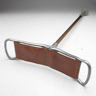 Vintage Featherwate Country Gentlemen's Shooting Stick with Leather Seat