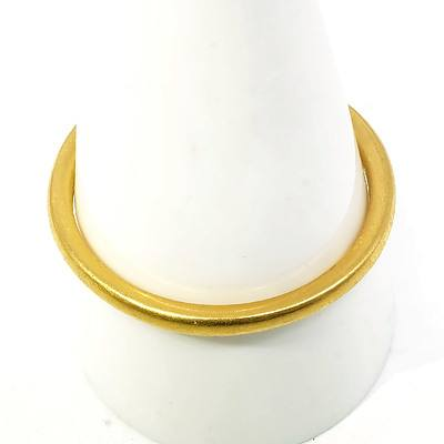 22ct Yellow Gold Ring, 4.5g