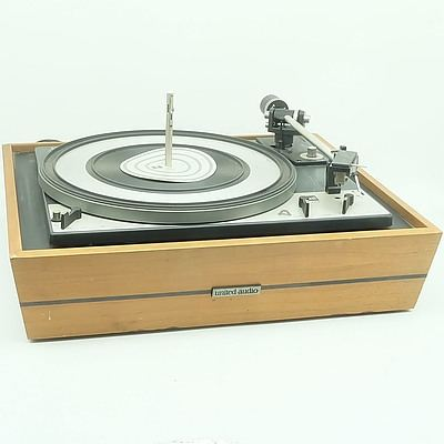 Dual 1209 Turntable and A Pair of KLH Speakers