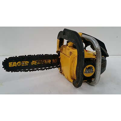 Eager Beaver Two Stroke Petrol Chain Saw