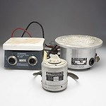 Group of Scientific Equipment, Including Hot Plate Stirrer, Heating Mantle and More