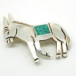 Mexican Sterling Silver Donkey