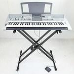 Yamaha PSR E413 Electronic Keyboard And Stand