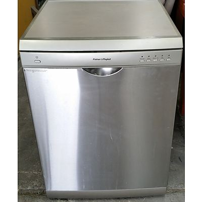 Fisher and Paykel Stainless Steel Dishwasher