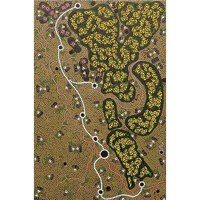 'Kamilaroi Barray'  By Indigenous Artist Lesley Salem