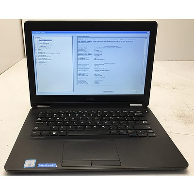 Dell Latitude E7270 12.1 Inch Widescreen Core i5 -6200U 2.3GHz Laptop