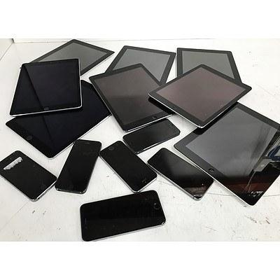Apple iPads & iPhones - Lot of 14