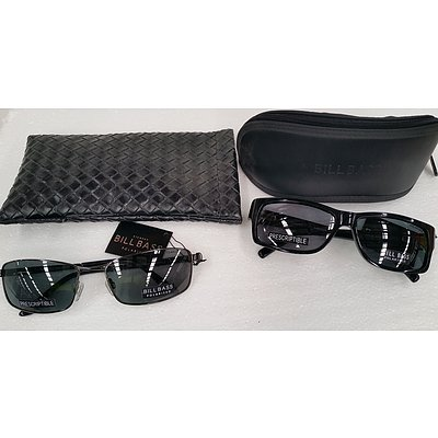 Two Pairs of Bill Bass Sunglasses - New