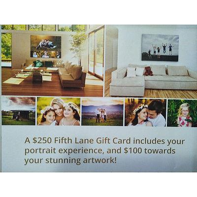 $250 Fifth Lane Photography Voucher