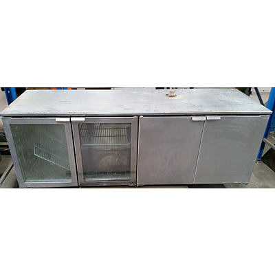 Williams 4 Door Underbar Fridge, Model: HBR4R