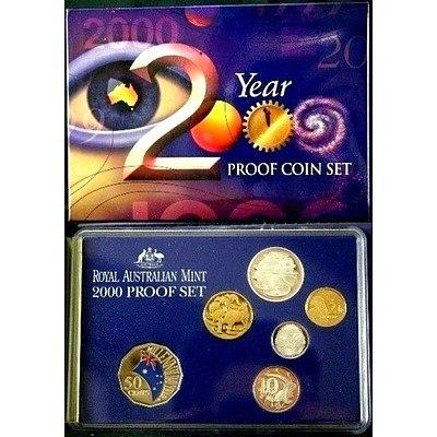 Australia 2000 Millennium PROOF Set