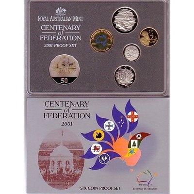 Australia 2001 Centenary of Federation PROOF Set