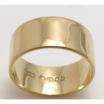 Vintage Queen Elizabeth II 18ct Gold Ring