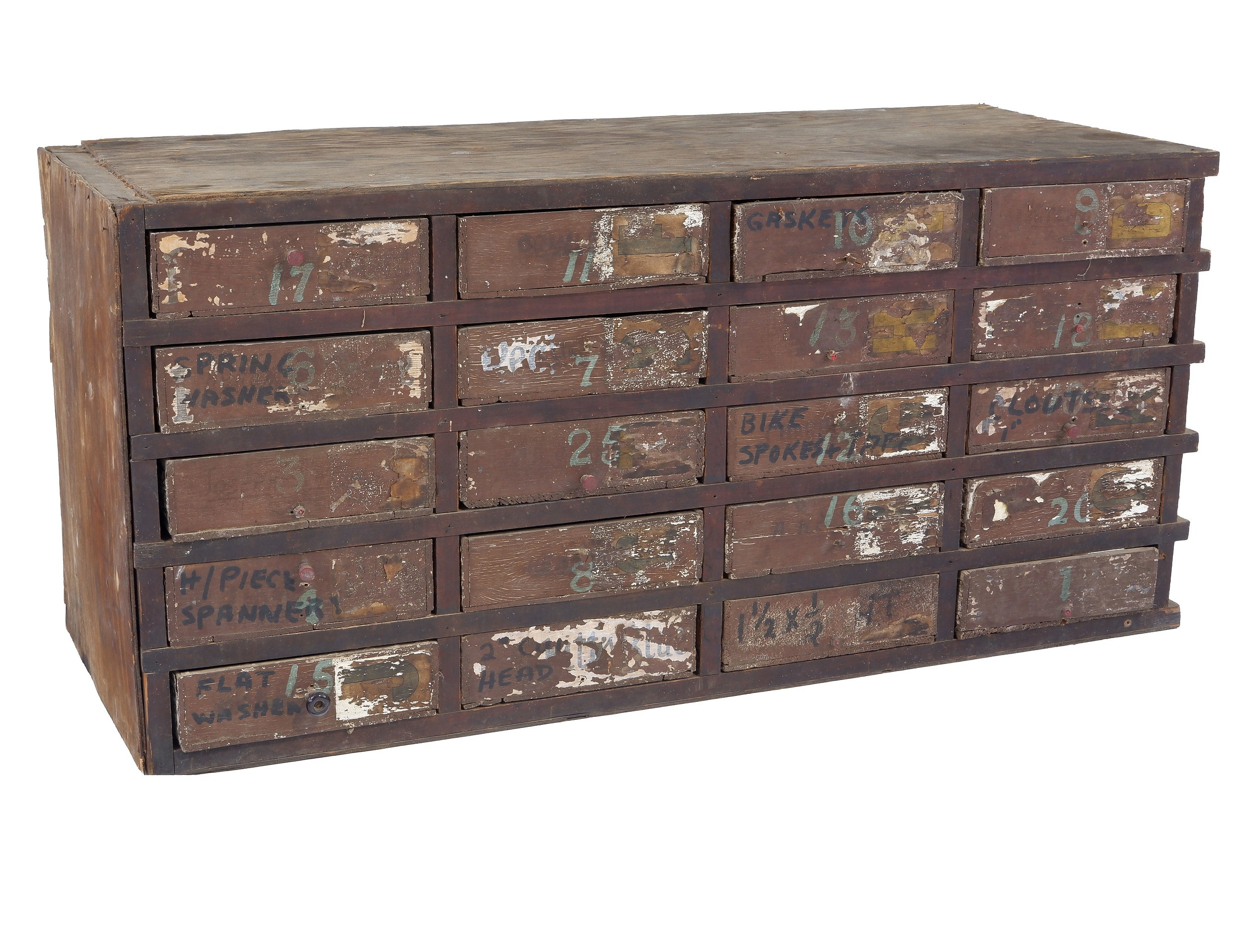 'Australian Depression Era Chest of Drawers'