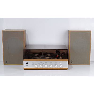 Dual HS40 Turntable with Dual CL12 Passive Bookshelf Speakers