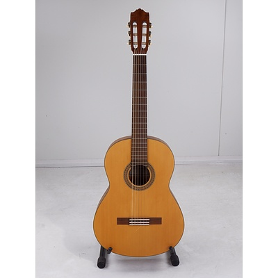 Yamaha CG 101MS Nylon String Classical Guitar with Stand