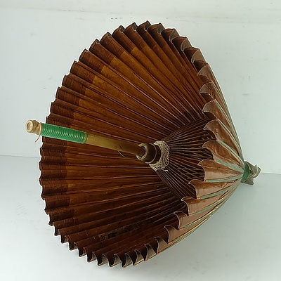 Vintage Oriental Umbrella