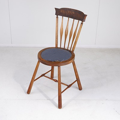 Antique English Provincial Style Stool