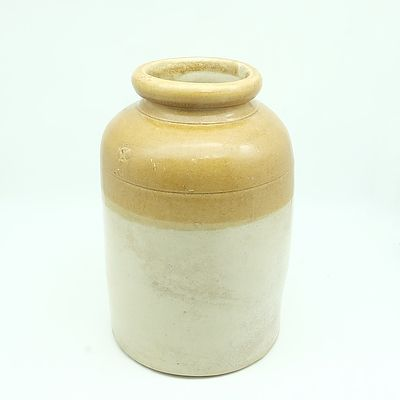 Antique Glazed Stoneware Jar