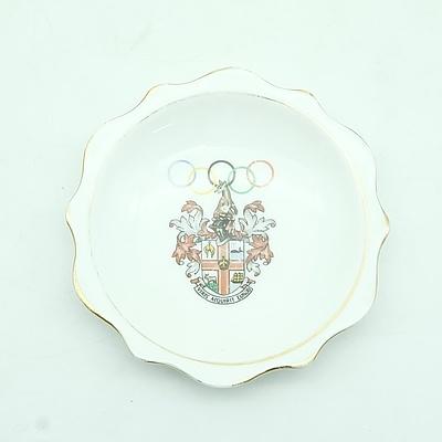 Melbourne 1956 Olympics Royal Albert Dish