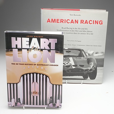 Four Automotive Books Including Ford Australia, American Racing and More