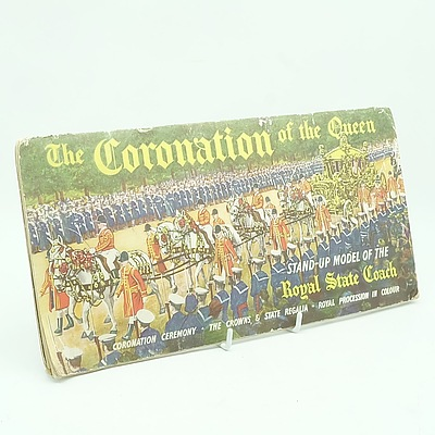 The Coronation Of The Queen Booklet, Published by The London Times