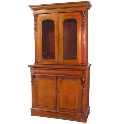 Australian Cedar Bookcase Circa 1880