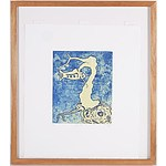 Artist Unknown, Rifle Fish Etching and Aquatint Signed PV 07, Edition 1/12