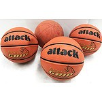 Attack & Wilson Youth Basketballs