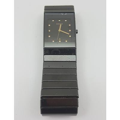 Genuine Rado Diastar Mens Watch Model Number 1520347 with Original Rado Band