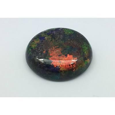 Solid Black Matrix Opal