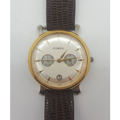 Fossil Watch - Model Number TM-7254