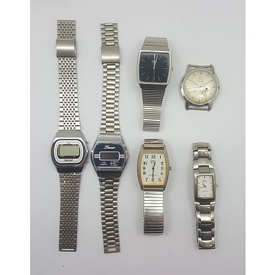 Vintage and Retro Watches including Digitals