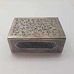Sterling Silver Match Box Holder