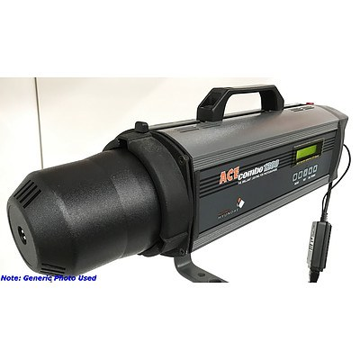 Hyundae Ace Combo 1200 Multi-Function Photography Strobe