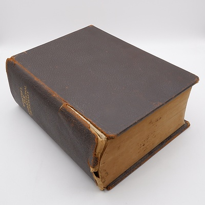 Webster's New International Dictionary 1910