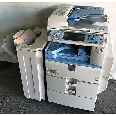 Ricoh Aficio MP2851 Black & White Multi-Function Printer with Finisher