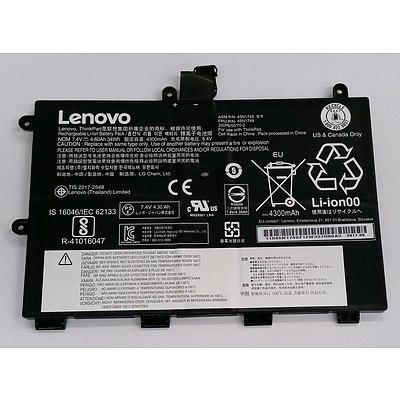 Lenovo ThinkPad Yoga 11e Replacement Li-ion Battery Pack - Lot of Eight RRP over $500