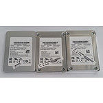 "Lite-On CV3-CE256 & LCH-128V2S 2.5"" Solid State Drives - Lot of Three"