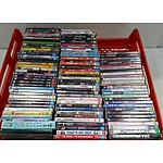 Assorted DVD's of Television Series and Movies - Lot of 110