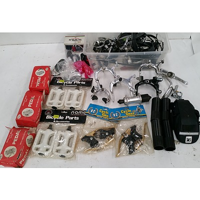 Selection of Push Bike Parts and Accessories