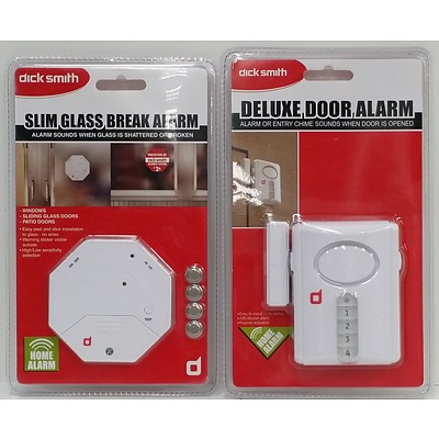 Dick Smith Door and Window Alarms - Lot of 16