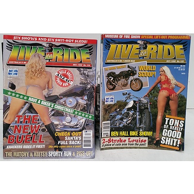 Motorcycling Magazines - Lot of 90