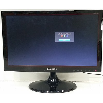 """Samsung S20D300HY 19.5"""" LED Monitor"""