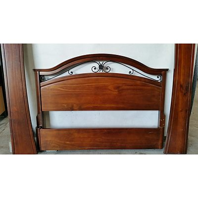 Trieste Queen Size Bed Frame