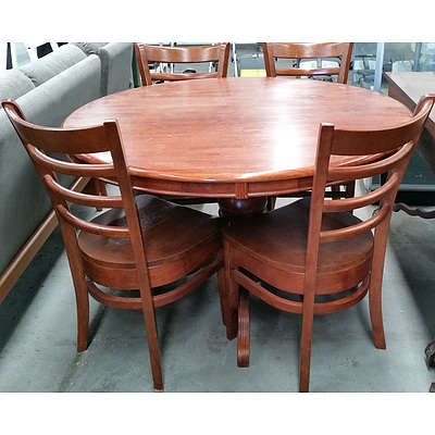 Balmoral Five Piece Maple Dining Setting